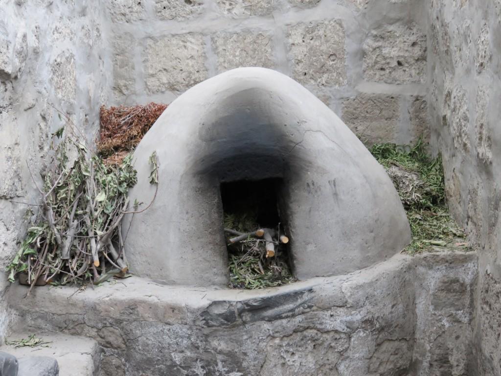 Un des nombreux fours du couvent