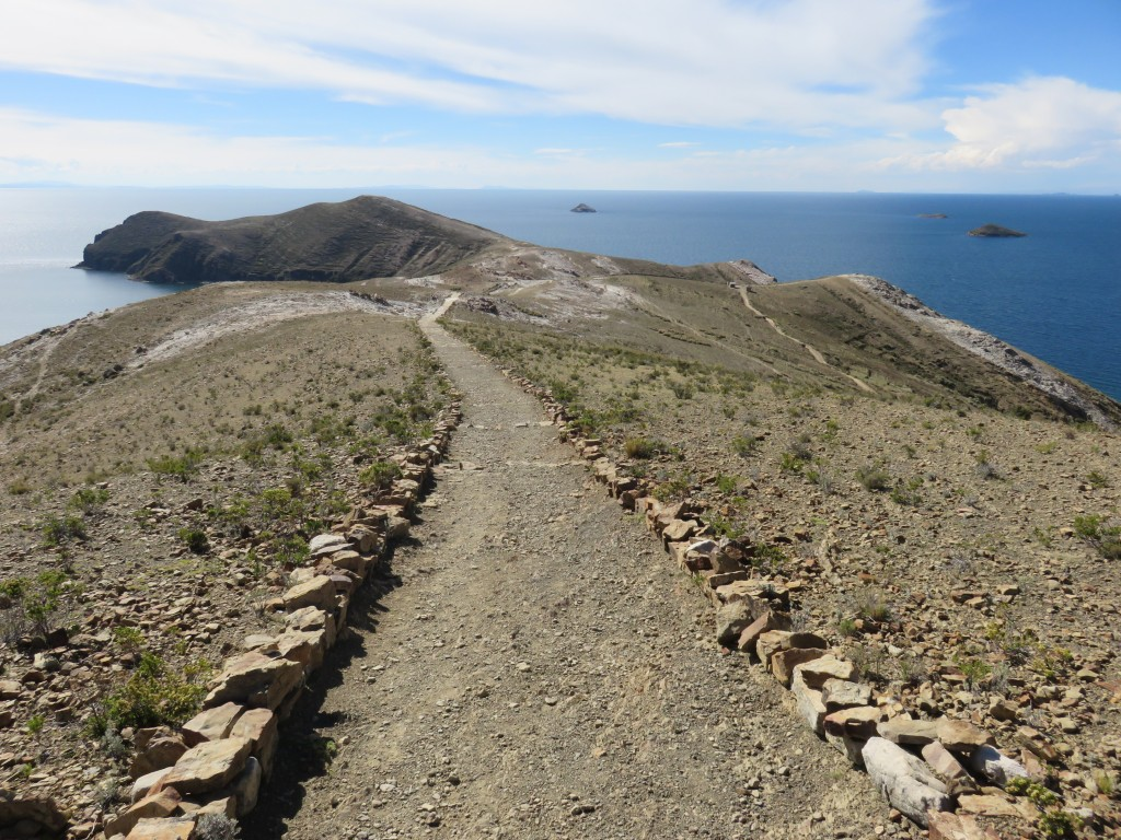Chemin de la crête de la Isla del Sol