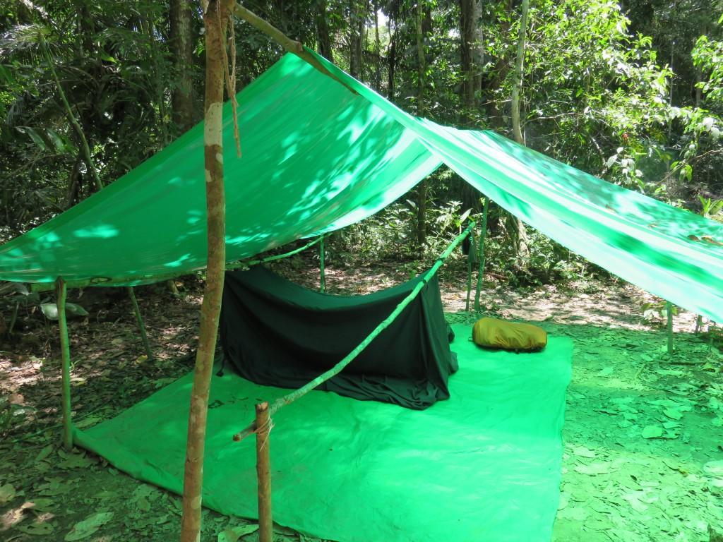 """Notre """"chambre"""" dans la jungle"""