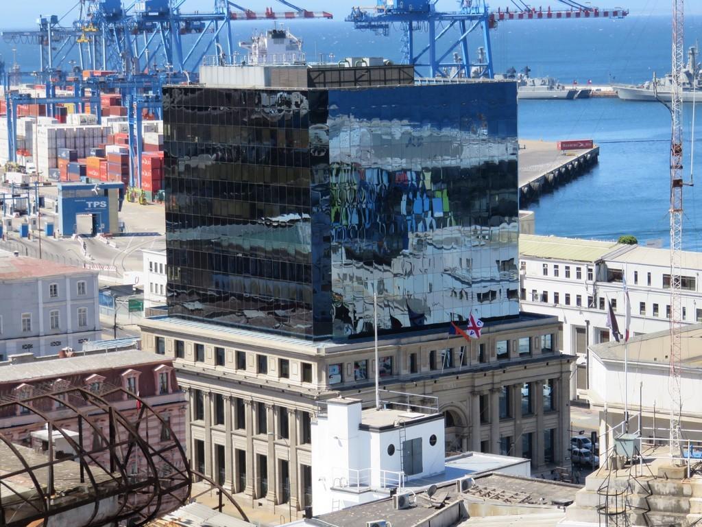 Un immeuble sur un autre