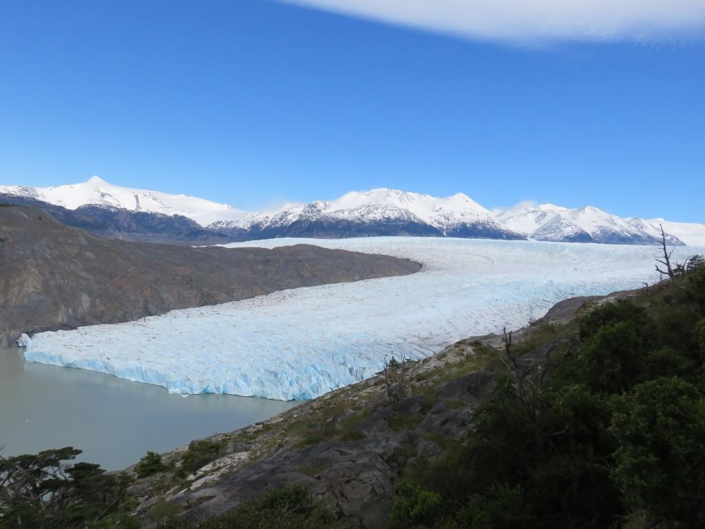 Le bout du glacier