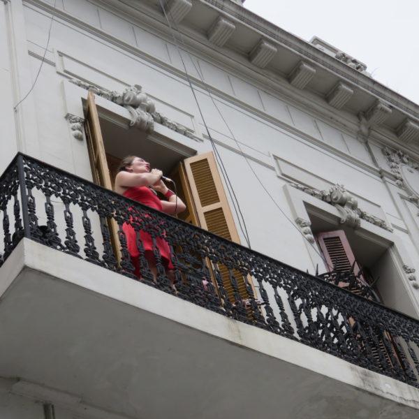 Spectacle de balcon