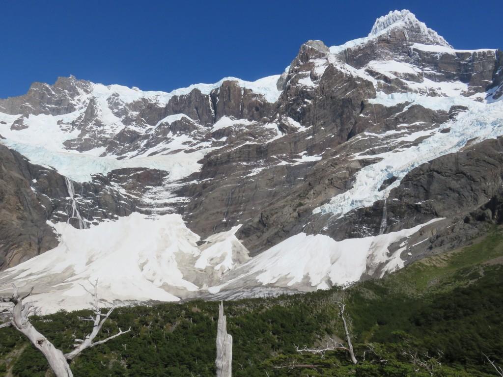 Le glacier frances