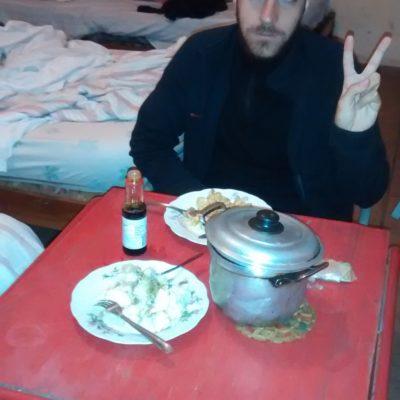 Manger dans la chambre